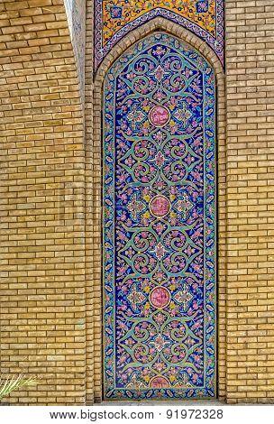 Golestan Palace decoration detail