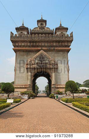 Patuxai - Vientiane Laos