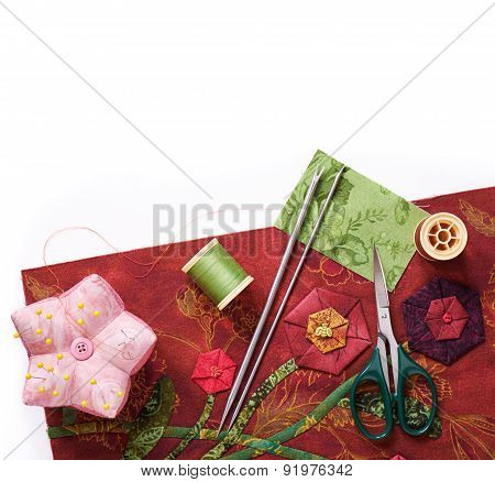 Tools For Applique To Fabric
