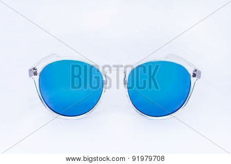 Object Sunglasses Isolated On The White