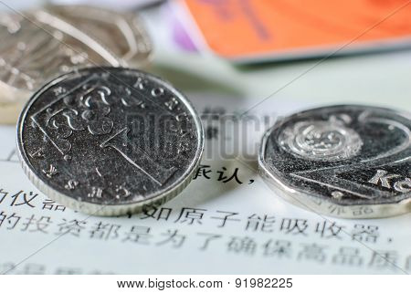 Coins In Full Frame