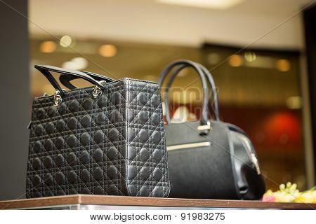 bag on the shelf