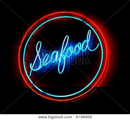 Seafood Neon Sign