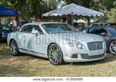 Bentley Continental Gtc Car On Display
