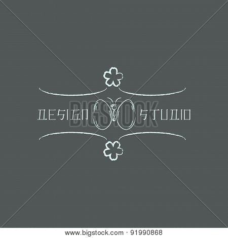 Logo Template In Oriental Style. Ethnic  Design Logotype For Business. Japanese, Chinese And Other E