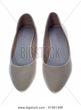 Summer Shoes Isolated On White