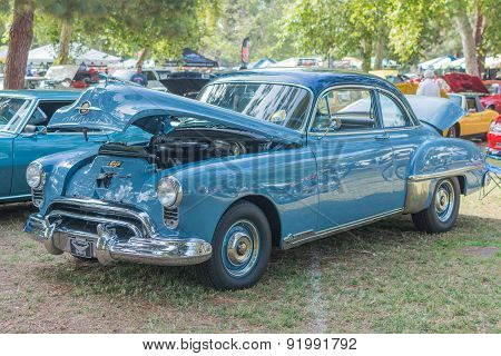 Oldsmobile Futuramic Car On Display