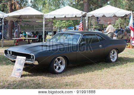 Dodge Challenger Car On Display