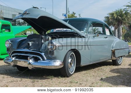 Oldsmobile Fastback Car On Display