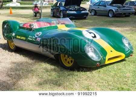 Lotus 30 Car On Display