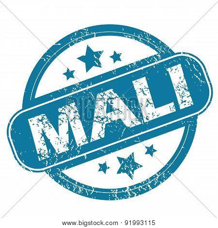 MALI round stamp