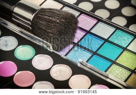 Make-up Colorful Eyeshadow Palettes