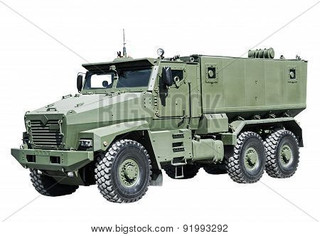 Armored Car Enhanced Security For The Transportation