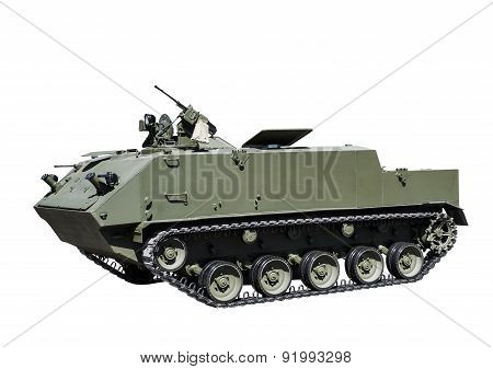 Armored Personnel Carrier Landing Troops