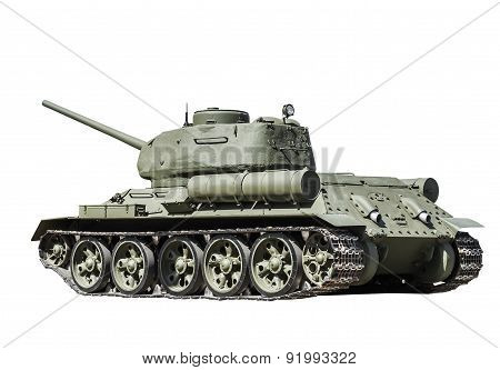 Legendary Soviet Tank At War In The Second World War