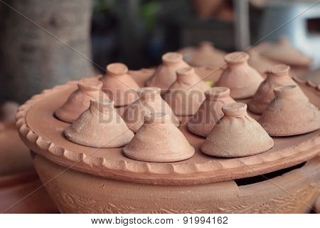 Earthenware Brown For Sale In Asia