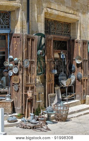 Antique Shop In Nicosia, North Cyprus