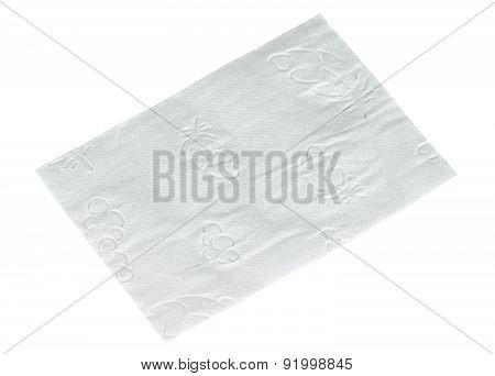 Simple Piece Toilet Paper