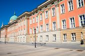 image of rebuilt  - The rebuilt City Palace in Potsdam with the St - JPG