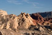 image of valley fire  - The Valley of Fire is the oldest and biggest State Park in Nevada and was onened 1935 - JPG