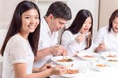 image of lunch  - Family lunch - JPG