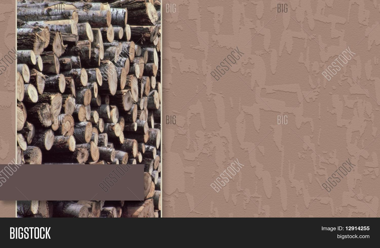 Tree Service/Firewood Business Card Image & Photo   Bigstock