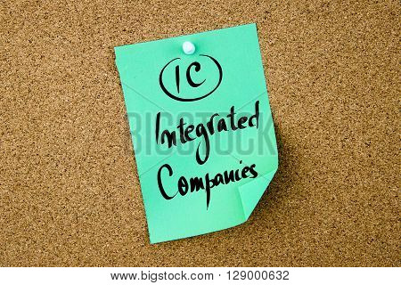 Business Acronym Ic Integrated Companies