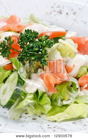 salad wish fish