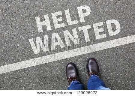 Help Wanted Jobs, Job Working Recruitment Employees Business Concept