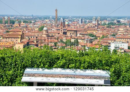 Bologna tour aerial view sightsee emilia romagna