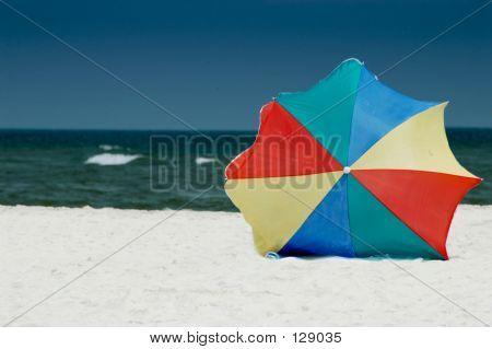 Guarda-chuva solitária