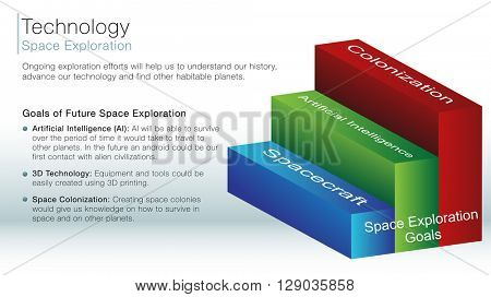 An image of a space exploration information slide.