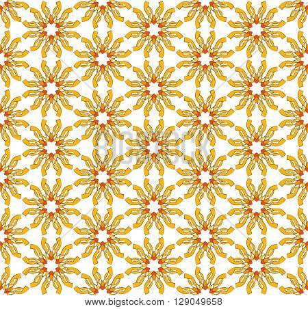 abstract background Choppy sunny textile pattern yellow color