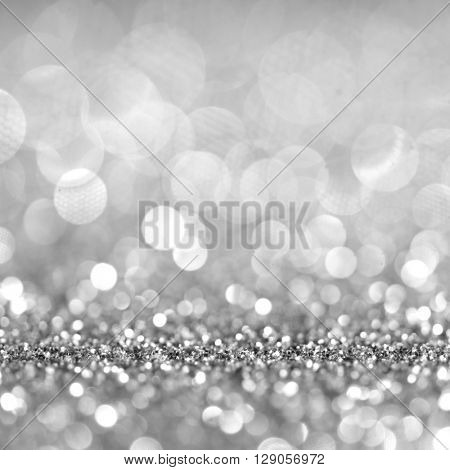 Christmas Glittering background. Holiday abstract texture. Bokeh