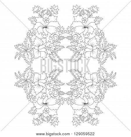 Designed taking advantage of the Ottoman motifs design series