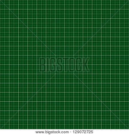 Graph, Millimeter Paper Background. Blank Grid, Mesh Background With Units.