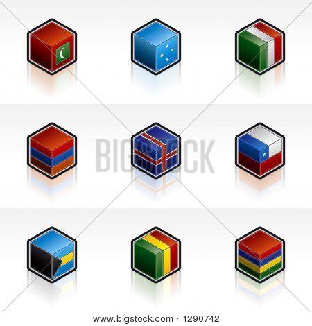 Flag Icons Set - Design Elements 56H