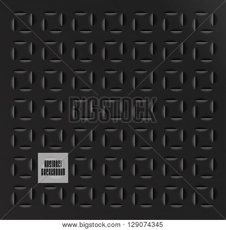 Abstract geometric background,  paper cut texture with shadow. Simple clean background texture, interior wall panel pattern.