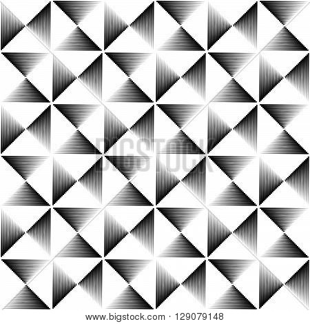 Pointed Lines Repeatable Pattern