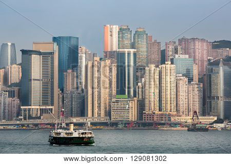Hong kong victoria harbour, Hong kong skyline