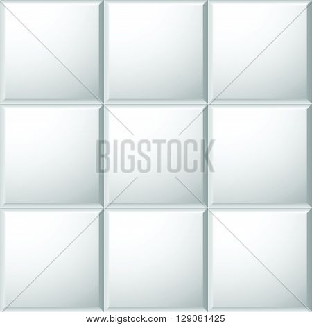Beveled Ceramic Tiles Pattern