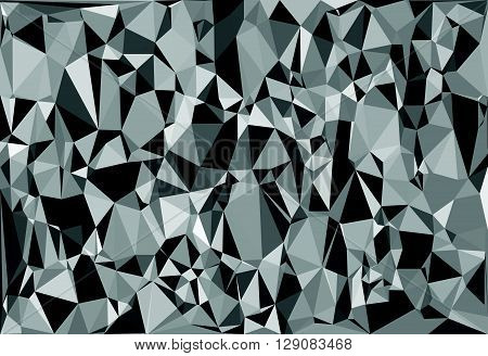 Tessellating Random Triangles Pattern, Background Fitting Space Perfectly