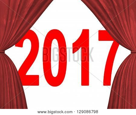 2017 Happy New Year Concept