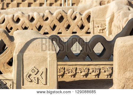Architectural Details In Chan Chan
