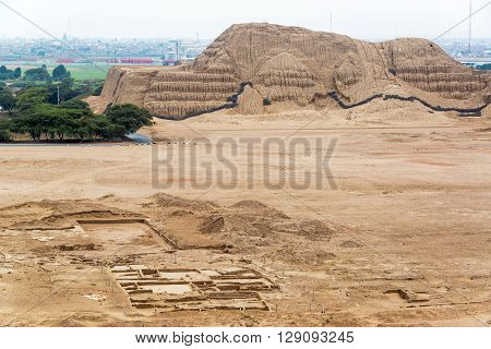 View Of Huaca Del Sol
