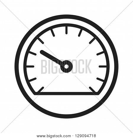 Speedometer, car, driving icon vector image. Can also be used for car servicing. Suitable for use on web apps, mobile apps and print media.