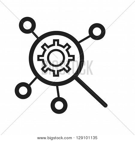 SEO, development, marketing icon vector image. Can also be used for digital web. Suitable for use on web apps, mobile apps and print media.