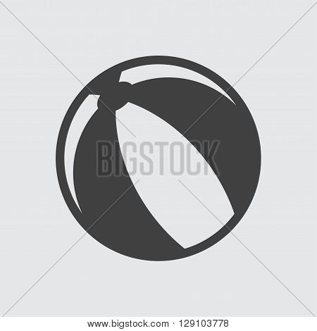 Ball icon illustration isolated vector sign symbol