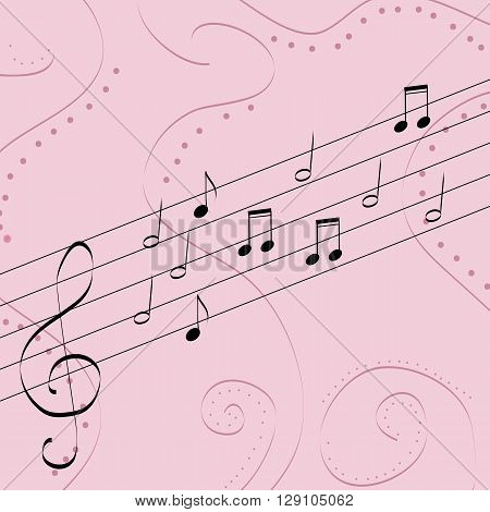 music pattern delicate color pattern texture sound
