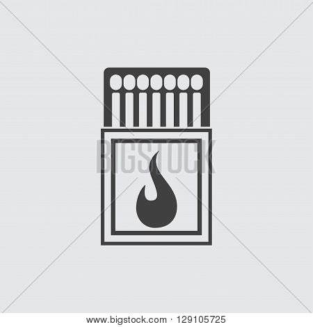 Matchbox icon illustration isolated vector sign symbol
